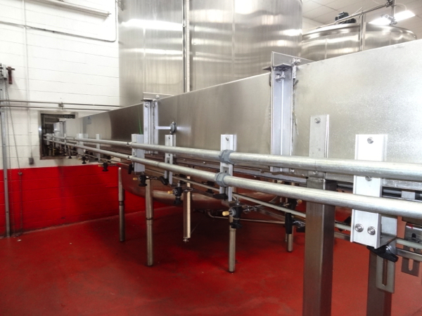 Ambec Air Conveyor System, 28mm, Includes Approximately 125' Intermediate Air Conveyor (All Floor - Image 5 of 8
