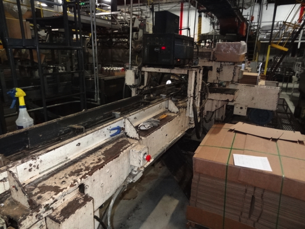 Standard Knapp Traymore Trayloader/Packer, Includes Nordson 3500 Glue Unit. | NOTE: This lot is - Image 8 of 9