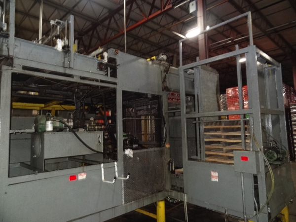 Von Gal Model P7500 RH SEPD-RAA High Level Case Palletizer. | NOTE: This lot is subject to the - Image 3 of 6