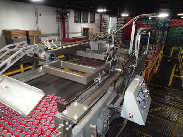 Seco Model 400-2D High Level Bulk Depalletizer, Z-Flow Narrow Side Leading with 30' Infeed Conveyor, - Image 3 of 11
