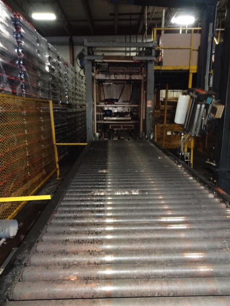 Von Gal Model P7900 High Level Case Palletizer.   NOTE: This lot is subject to the bulk bid of LOT