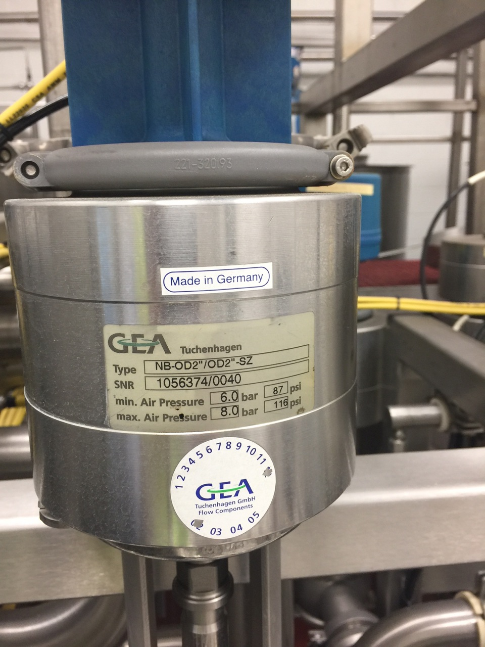 Stainless Steel CIP Manifold with GEA Valves | Rigging Price: $100 - Image 3 of 6