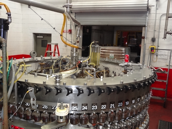 Meyer 72-Valve Rotary Can Filler, 202 End Size For 202/211X415 Beverage Can. Includes Stainless - Image 5 of 5