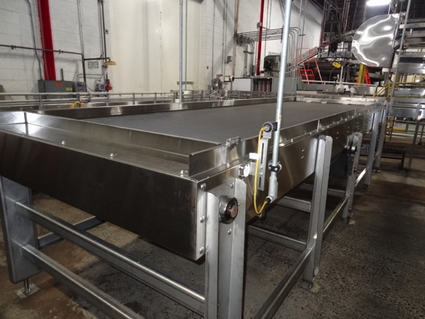 """Alliance Stainless Steel Accumulation Table, 6' x 21', 60"""" Elevation, Intralox 400 Belting, Clearing - Image 7 of 7"""