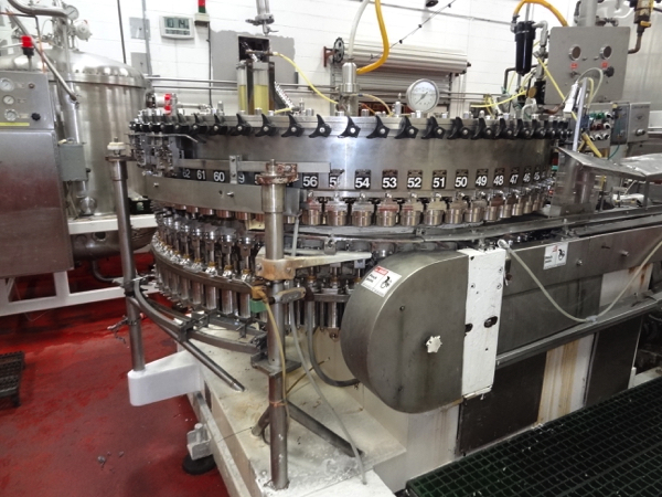 Meyer 72-Valve Rotary Can Filler, 202 End Size For 202/211X415 Beverage Can. Includes Stainless