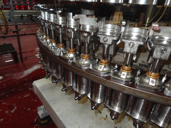 Meyer 72-Valve Rotary Can Filler, 202 End Size For 202/211X415 Beverage Can. Includes Stainless - Image 4 of 5