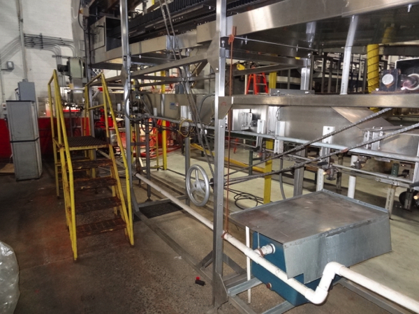 Ambec Air Conveyor System, 28mm, Includes Approximately 125' Intermediate Air Conveyor (All Floor - Image 7 of 8