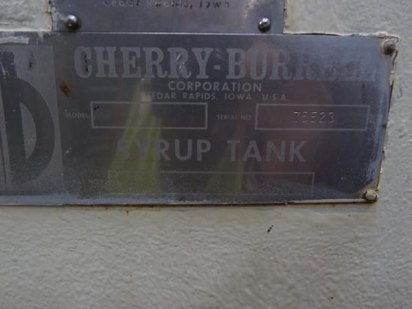 5000 Gallon Cherry Burrell Stainless Steel Horizontal Mixing Tank, 8' Diameter X 13' Straightwall - Image 3 of 6