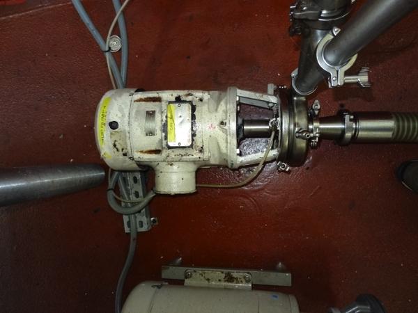 Tri-Clover Sanitary Centrifugal Pump Model C216MD18T-S-3-36, 3hp, 3505 rpm | Rigging Price: $50