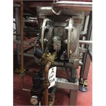 IR Aro Stainless Steel Diaphragm Pump, Model 666151-248-C | Rigging Price: $50