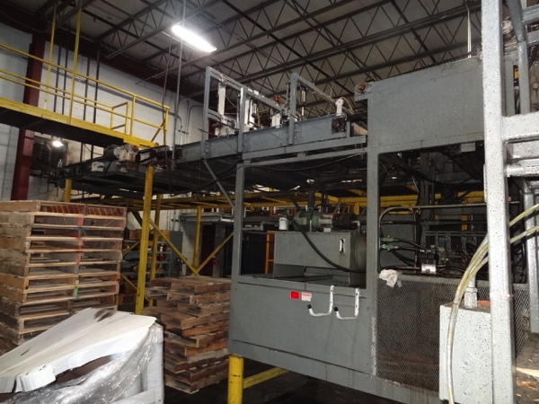 Von Gal Model P7500 RH SEPD-RAA High Level Case Palletizer. | NOTE: This lot is subject to the - Image 2 of 6