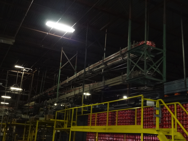 Empty Can Cable Conveyor System, Includes 5-Pass Alpine, Approximately 100' Of Conveyor And 90