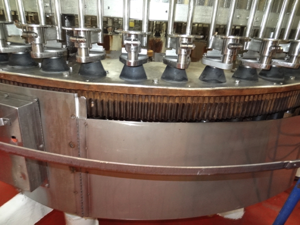 Vickers Dawson Model 52-8 52 Valve Filler with 8 Head Rotary Capper, Includes Alcoa 8 Head Cap In - Image 10 of 11