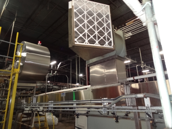 Ambec Air Conveyor System, 28mm, Includes Approximately 125' Intermediate Air Conveyor (All Floor - Image 4 of 8
