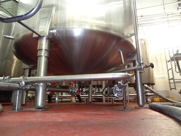 1500 Gallon Cherry Burrell Stainless Steel Top Agitated Mixing Tank, 6' Diameter X 7' Straightwall X - Image 5 of 11