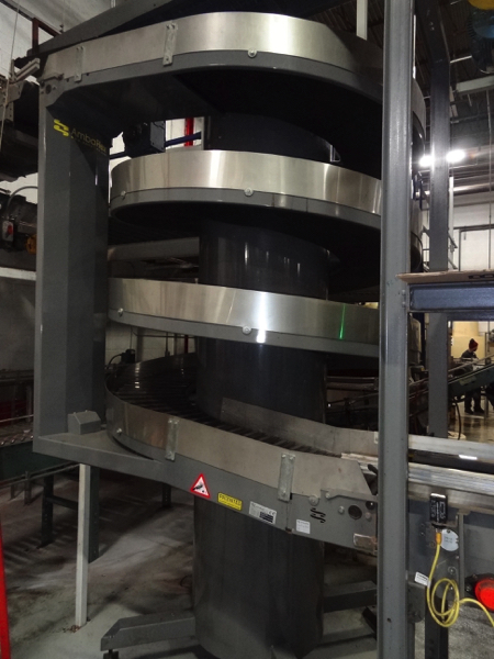 "Ambaflex Model SV-400-1300 Spiral Case Elevator, 52"" Infeed And 126"" Discharge Elevation, - Image 3 of 3"