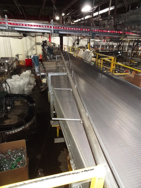 """Multi-Conveyor Pressureless Combiner, 33' Long, Right Hand, 18"""" Rexnord Infeed To (9) 4 1/2"""" - Image 4 of 4"""