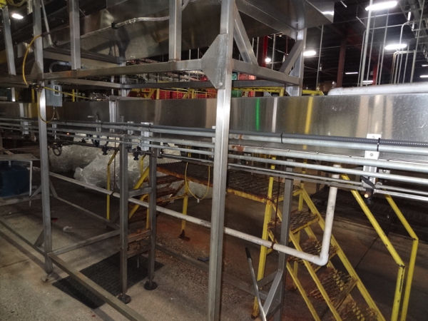 Ambec Air Conveyor System, 28mm, Includes Approximately 125' Intermediate Air Conveyor (All Floor - Image 2 of 8