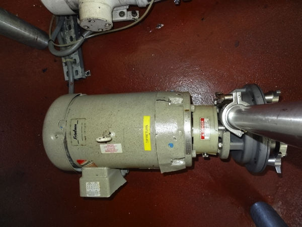 Fristam Sanitary Centrifugal Pump Model FZZX2200, 10hp,1760 rpm | Rigging Price: $50