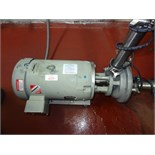 Fristam Sanitary Centrifugal Pump Model Model FZX22000, 10hp, 31760 rpm | Rigging Price: $50