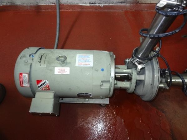 Lot 20 - Fristam Sanitary Centrifugal Pump Model Model FZX22000, 10hp, 31760 rpm | Rigging Price: $50