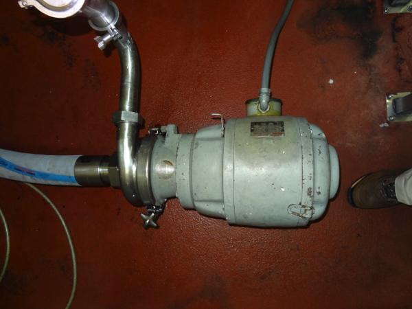 Cherry-Burrell Sanitary Centrifugal Pump Model VBH, 7 .5hp, 3600 rpm | Rigging Price: $50