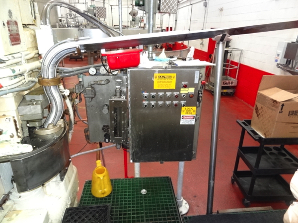 Lot 25 - Angelus Can Seamer Model 120L, 12-Spindle Seamer, 202 End Size, S/N 74671069 | NOTE: This lot is