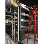 "Ambaflex Model SV-400-1300 Spiral Case Elevator, 52"" Infeed And 126"" Discharge Elevation,"