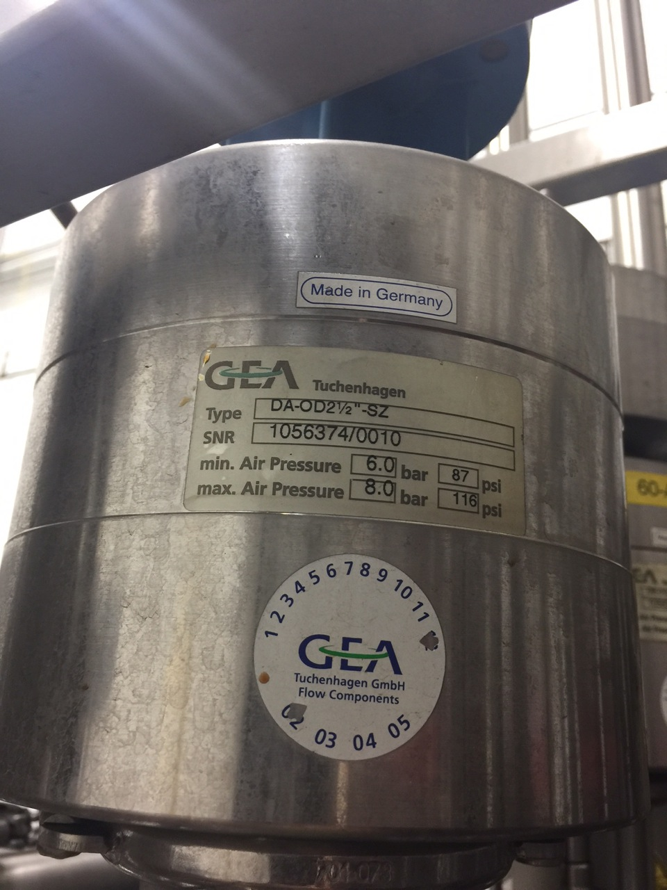 Stainless Steel CIP Manifold with GEA Valves | Rigging Price: $100 - Image 4 of 6
