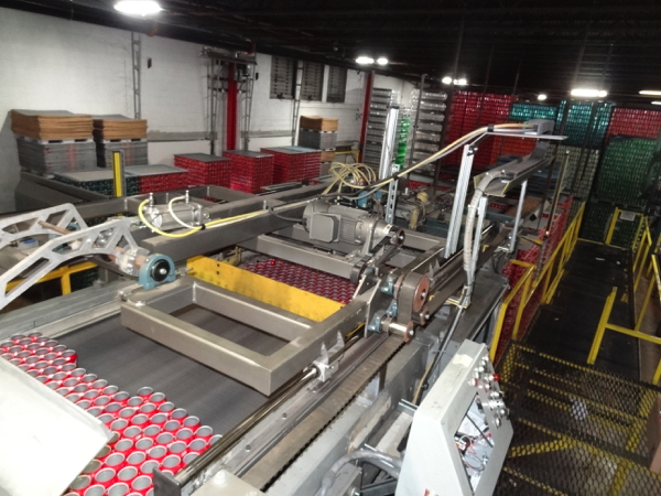Seco Model 400-2D High Level Bulk Depalletizer, Z-Flow Narrow Side Leading with 30' Infeed Conveyor, - Image 6 of 11