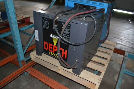 Choice Of Lots 638 639 P Exide 48 Volt Forklift Battery Charger