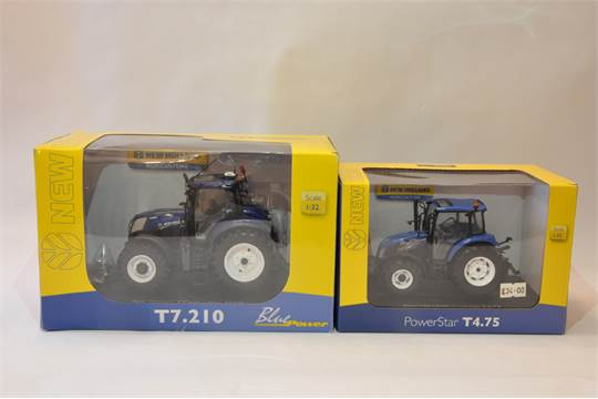 540x360 universal hobbies 1 32 new holland t7 210 blue power plus new New Holland T4.75 Cab at edmiracle.co