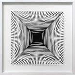 Morandini Marcello (geb. 1940) Komposition 655b 2017 3D Konstruktion aus Baumwollpapier und