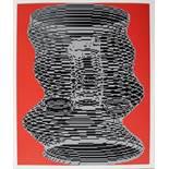 Kogler Peter (geb. 1959) Ohne Titel 1985 Siebdruck handsigniert verso 26 x 21,5 cm