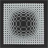 Vasarely Victor (1906-1997) Ohne Titel 1970 Siebdruck drucksigniert, nummeriert 32/90 70 x 70 cm