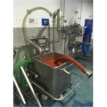 Syspal 250Kg Tote Bin Scales with Sartorius Combics 1 Read Out