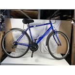 Blue Apollo CX10 18 speed bicycle