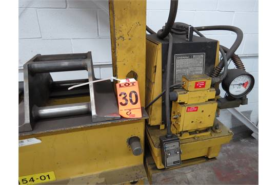 Enerpac Model: PER3042A Hydraulic Powered Shop Press c/w