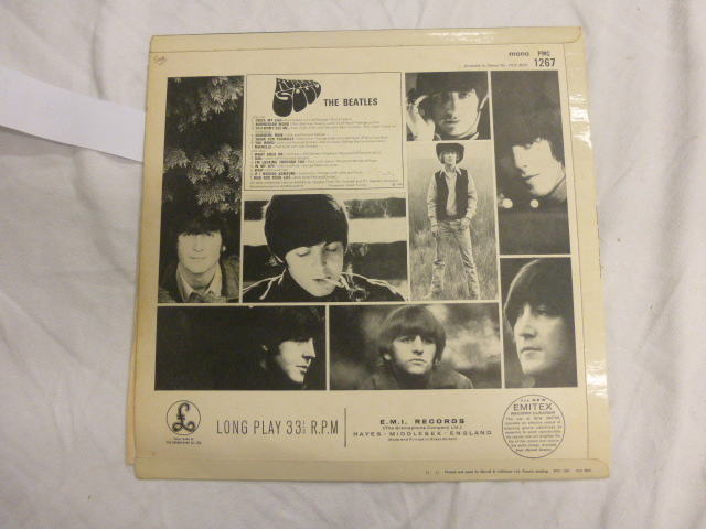 Lot 22 - Vinyl - The Beatles Rubber Soul PMC 1267 The Gramophone Co Ltd sold in the UK K.T tax code XEX 579.1
