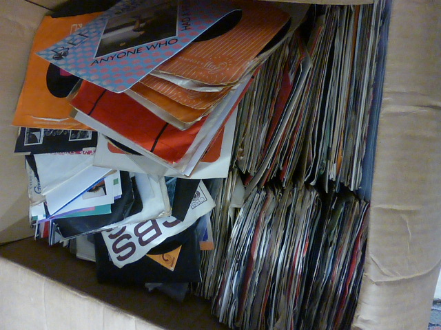 Lot 82 - Vinyl - Large collection of 45's from the 1960's onwards on various labels in company sleeves