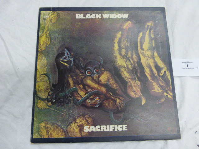 Lot 7 - Vinyl - Black Widow 'Sacrifice' (CBS 63948) 1970 pressing with gatefold sleeve, vinyl & sleeve VG+