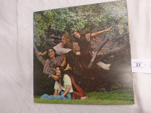 Lot 23 - Vinyl - Incredible String Band Changing Horses (Elektra 74057) nice version on the red Elektra label