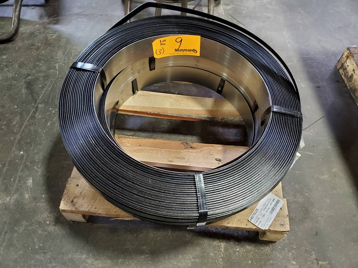 Lot 9 - Steel Strapping Rolls