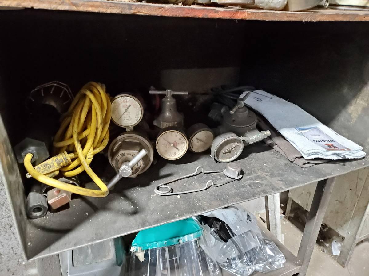 Metal Welding Storage Locker W/ Contents - Image 4 of 7