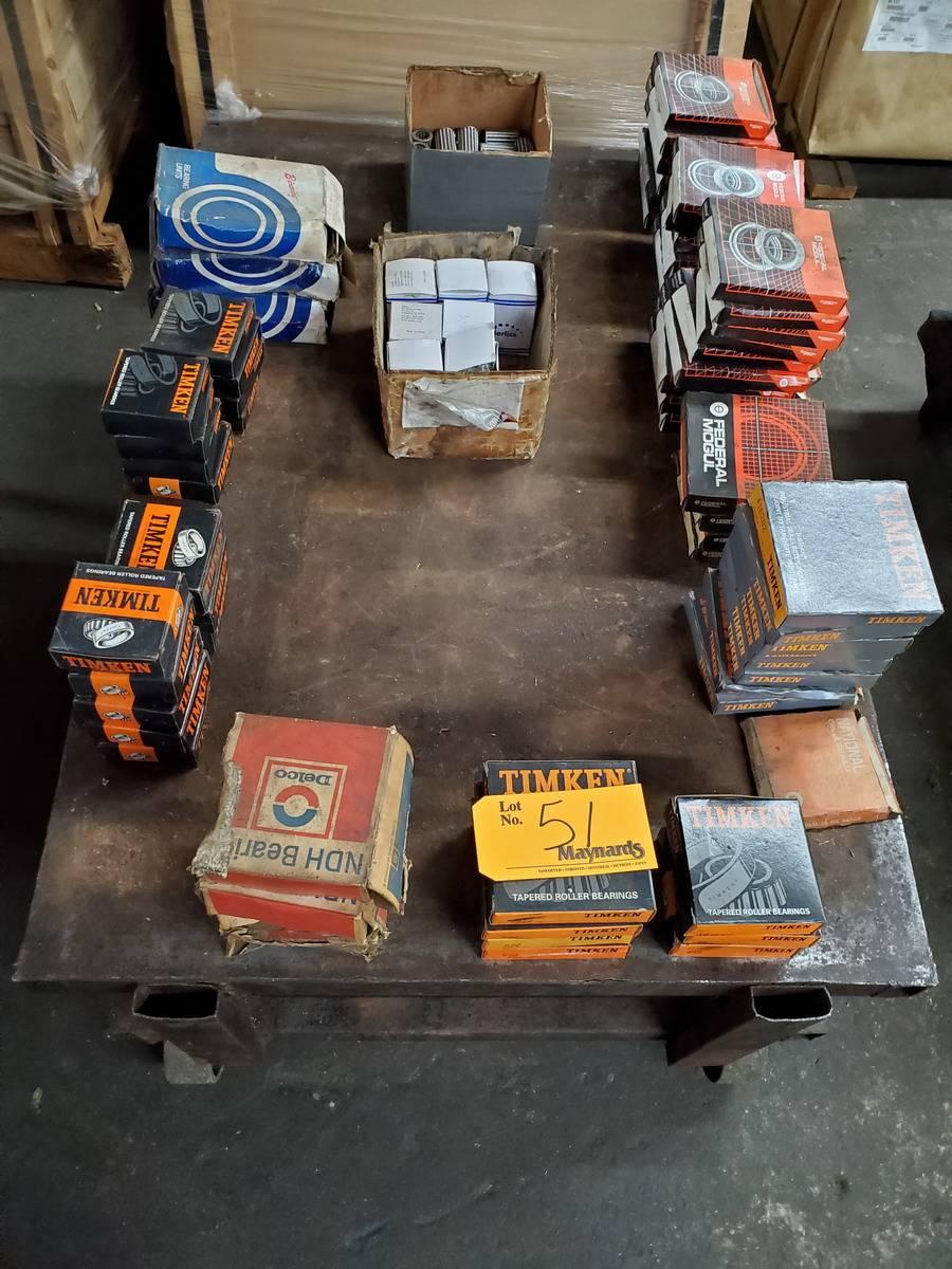 Various Mfg's: Timken, Federal Mogul,etc Bearings & Seals