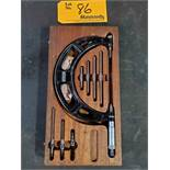 Starrett Micrometer Set