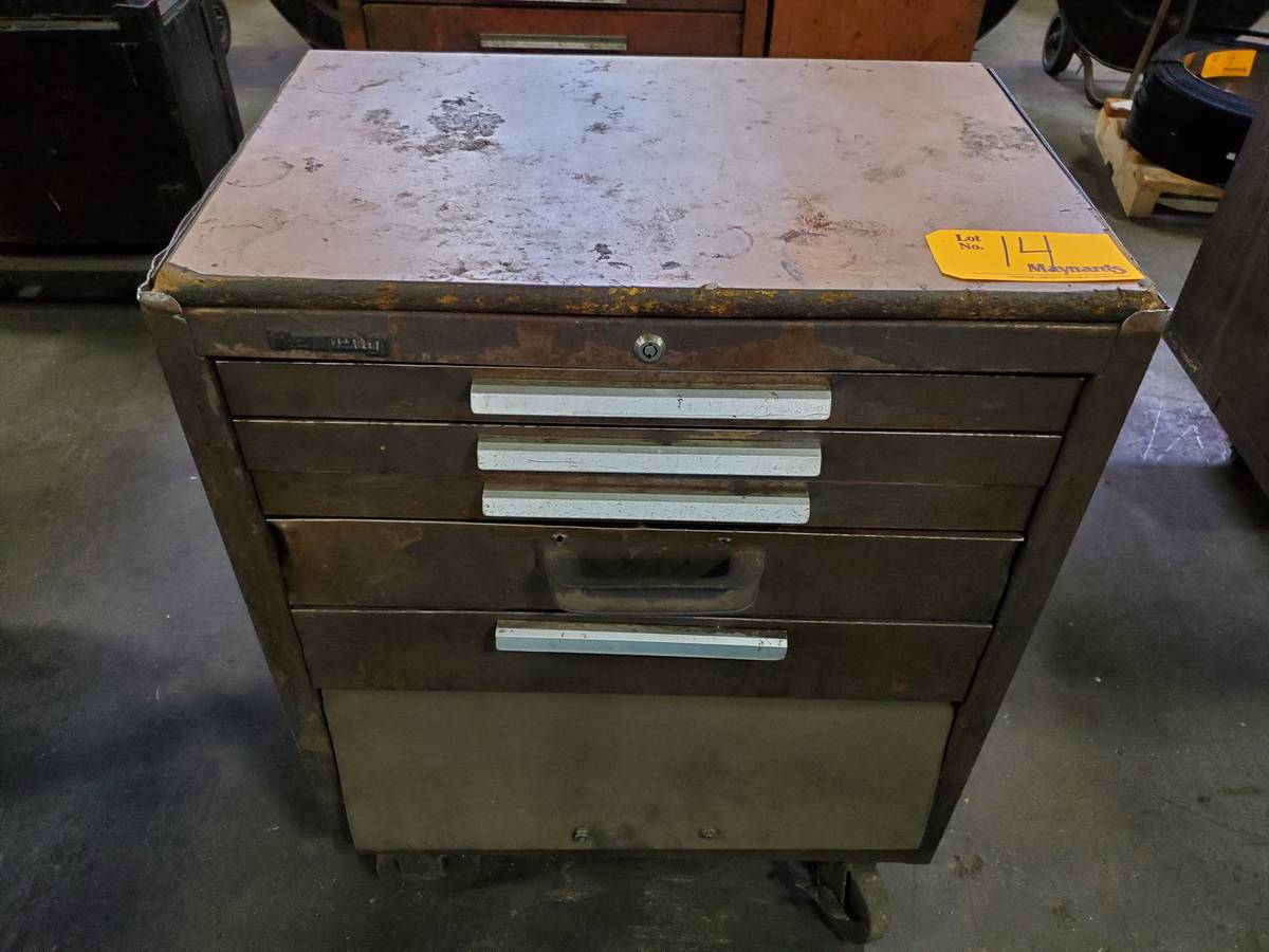 Kennedy Rolling 5-Drawer Toolbox