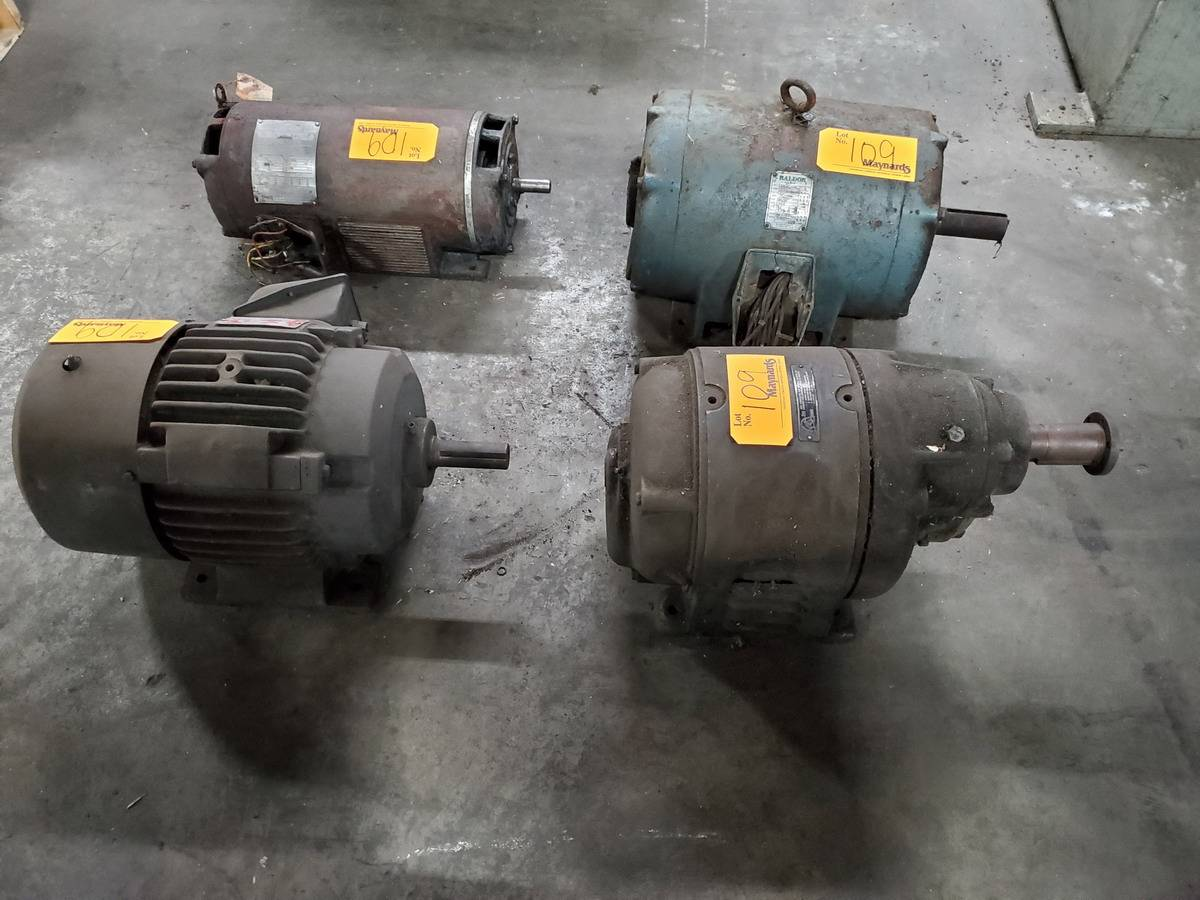 Motors & Gearboxes - Image 4 of 10
