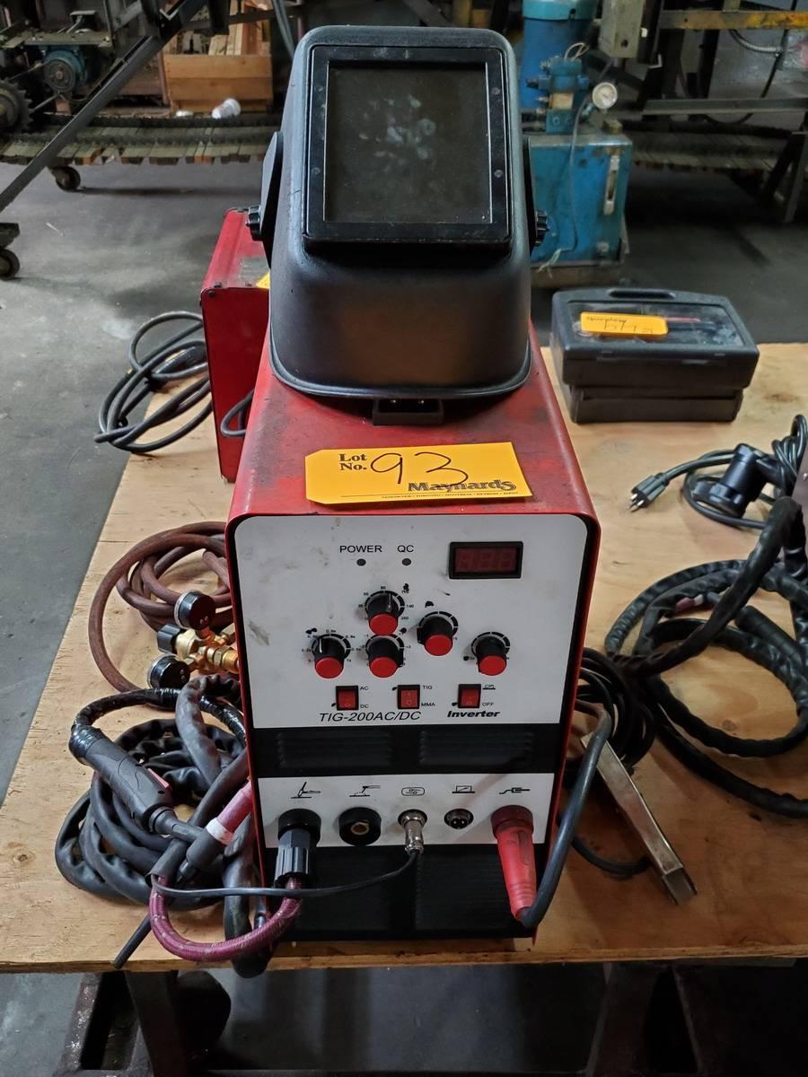 Lotus Tig200ACDC Welder
