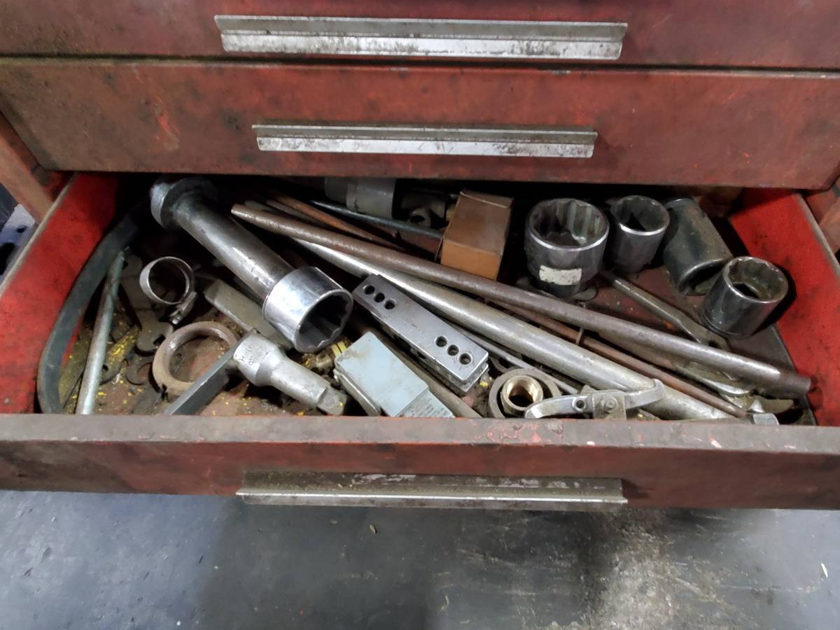 Lot 13 - Kennedy Rolling 5-Drawer Toolbox